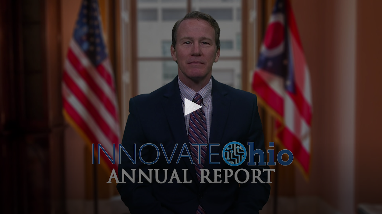 Click Image to view InnovateOhio Annual Report 2020 Video